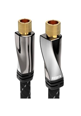 AVINITY SAT-Anschlusskabel, Gewebe, vergoldet, 120 dB, 1 m kaufen