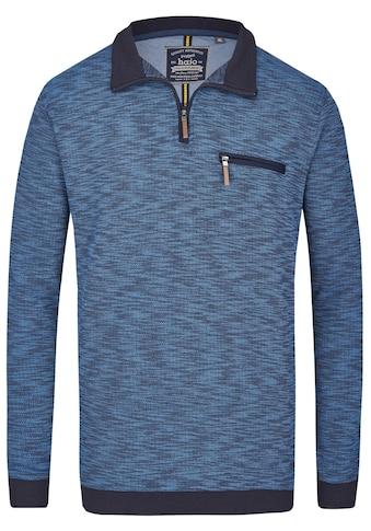 Hajo Stay Fresh Sweatshirt Flammenpikee mit Brusttasche kaufen