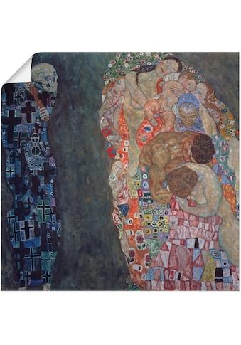 Artland Wandbild »Tod und Leben. Vollendet 1916.« kaufen