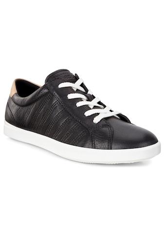Ecco Sneaker »Leisure«, mit herausnehmbarer Lederinnensohle kaufen