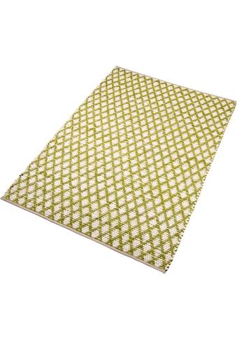 Home affaire Teppich »Edge«, rechteckig, 10 mm Höhe, Wendeteppich, Wohnzimmer kaufen