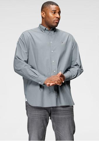 Tommy Hilfiger Big & Tall Langarmhemd »BT - MICRO BANDANA PRINT SHIRT - B« kaufen