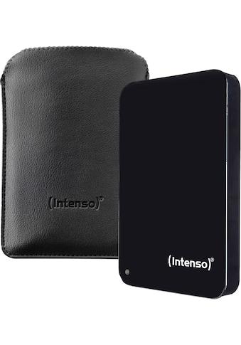 Intenso externe HDD-Festplatte »Memory Drive«, inkl. Tasche kaufen