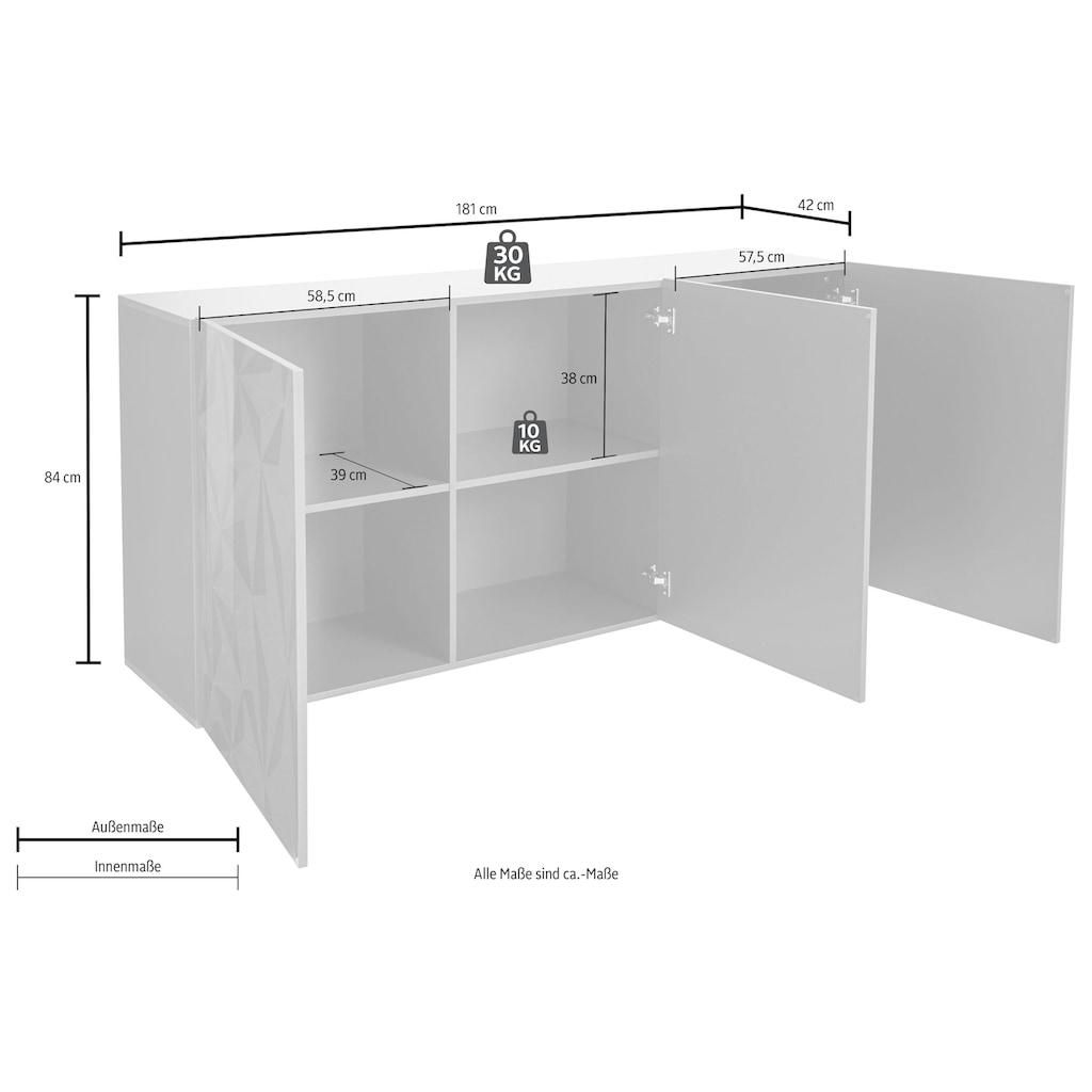 LC Sideboard »Prisma«, Breite 181 cm