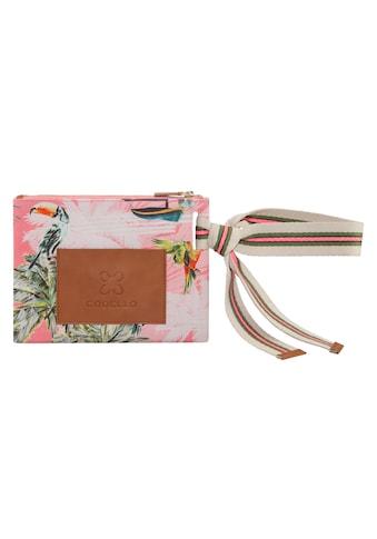 Codello Beautycase, mit Exotik-Print kaufen