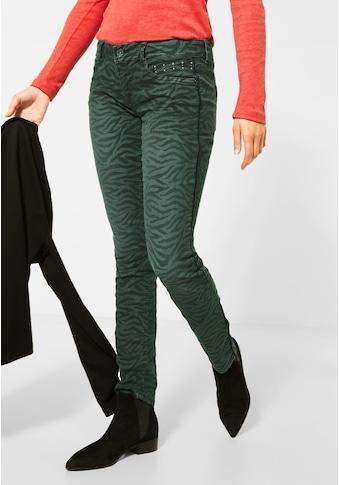 STREET ONE Comfort-fit-Jeans, mit Galon Streifen kaufen