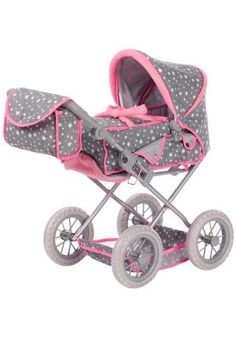 Knorrtoys® Kombi-Puppenwagen »Ruby - Star Grey« kaufen