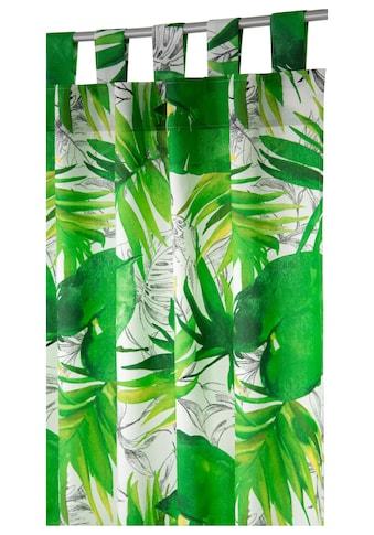 Vorhang, »Jungle«, TOM TAILOR, Schlaufen 1 Stück kaufen