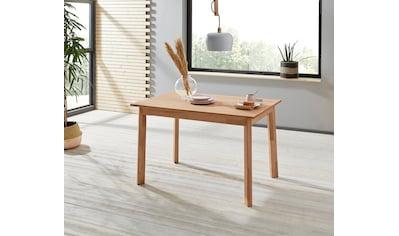 Woltra Esstisch »Skagen«, Massivholz kaufen