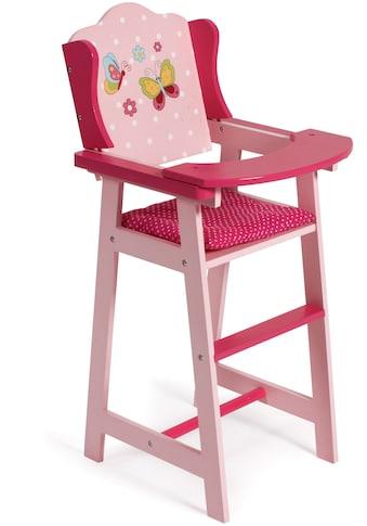 CHIC2000 Puppenhochstuhl »Papilio pink« kaufen