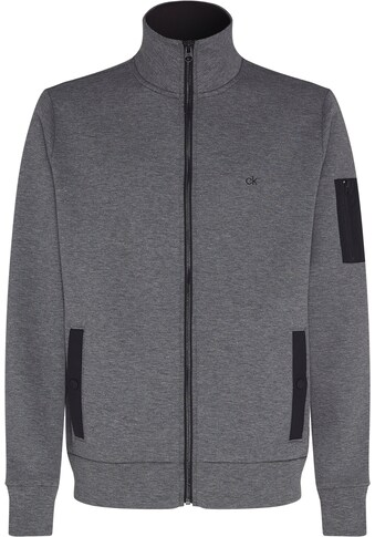Calvin Klein Sweatjacke »TECHNO JACQUARD FULL ZIP JACKET« kaufen