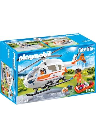 Playmobil® Konstruktions-Spielset »Rettungshelikopter (70048), City Life«, (38 St.),... kaufen