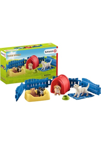 """Schleich® Spielwelt """"Farm World, Welpenstube (42480)"""" kaufen"""