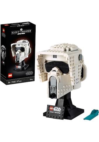 LEGO® Konstruktionsspielsteine »Scout Trooper™ Helm (75305), LEGO® Star Wars™«, (471... kaufen