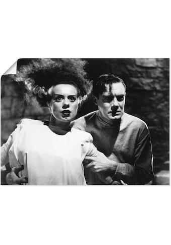 Artland Wandbild »Frankensteins Braut«, Stars, (1 St.), in vielen Größen &... kaufen