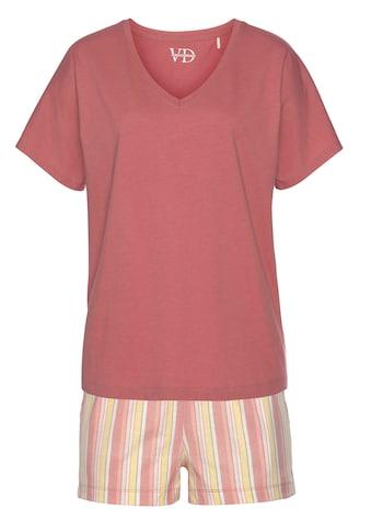 Vivance Dreams Shorty, mit gemusterter Shorts kaufen