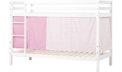 Hoppekids Etagenbett, Liegefläche 90x200 cm, mit Textilset und wahlweise mit Matratze kaufen