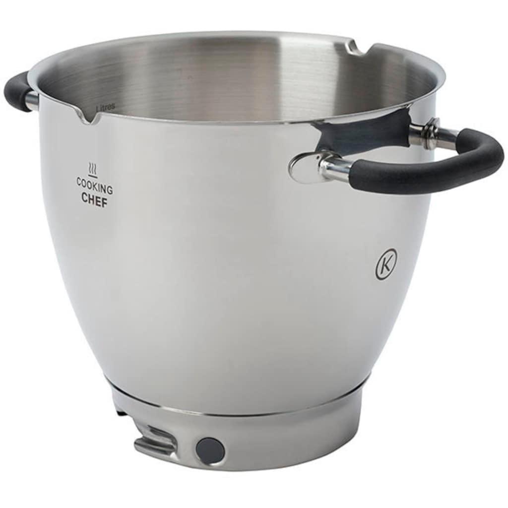 KENWOOD Küchenmaschinenschüssel »Cooking Chef Induktions-Rührschüssel KAT911SS«, passend für Kenwood KCC9000 Serie, Kenwood Cooking Chef Gourmet