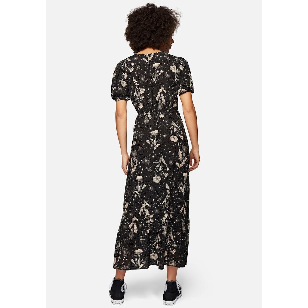 Mavi Maxikleid »PRINTED V NECK DRESS«, mit wunderschönen Blumenmuster
