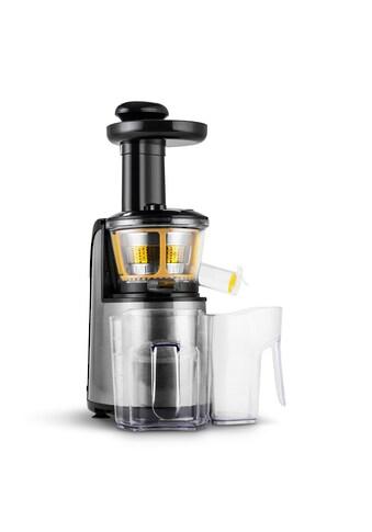 Klarstein Slow Juicer Edelstahl 150W 80 U/min »Fruitpresso Nero II« kaufen