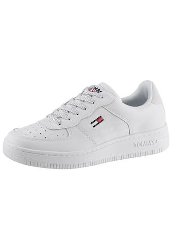 TOMMY JEANS Keilsneaker »WMNS REFLECTIVE BASKET TOMMY JEANS«, mit Logoflag kaufen