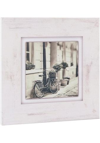 Home affaire Holzbild »Fahrrad an Hauswand« kaufen