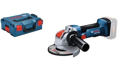 Bosch Professional Akku-Winkelschleifer »GWX18V-8 125mm (L) solo CLC« kaufen