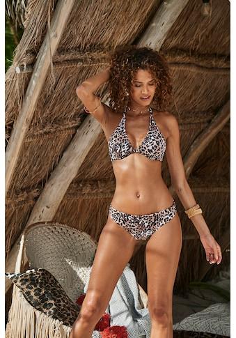 LASCANA Bikini-Hose »Lexa«, mit Umschlagbund und Muschelkante kaufen