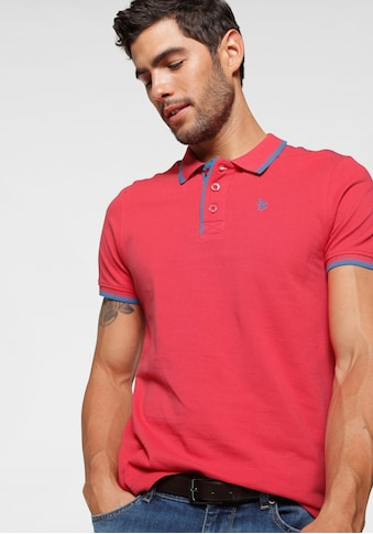 Rhode Island Poloshirt, in Piqué-Qualität mit kontrastfarbigen Details kaufen