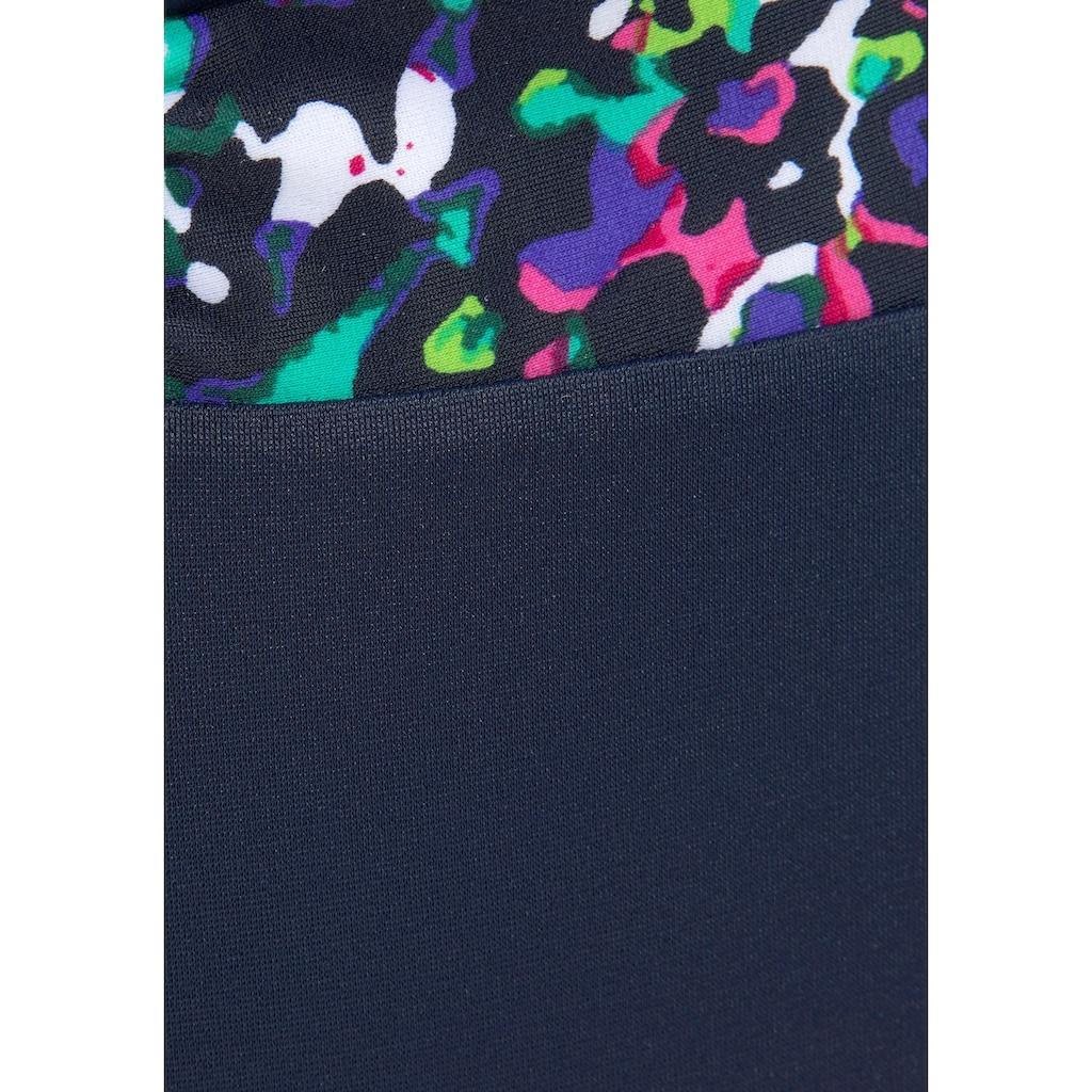 LASCANA Badeanzug, mit Millefleursdruck und Shaping-Effekt