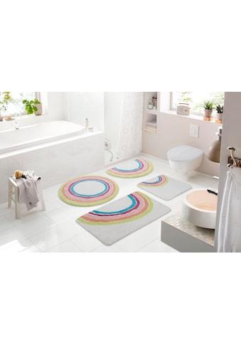 Badematte »Regenbogen«, my home, Höhe 12 mm, strapazierfähig kaufen