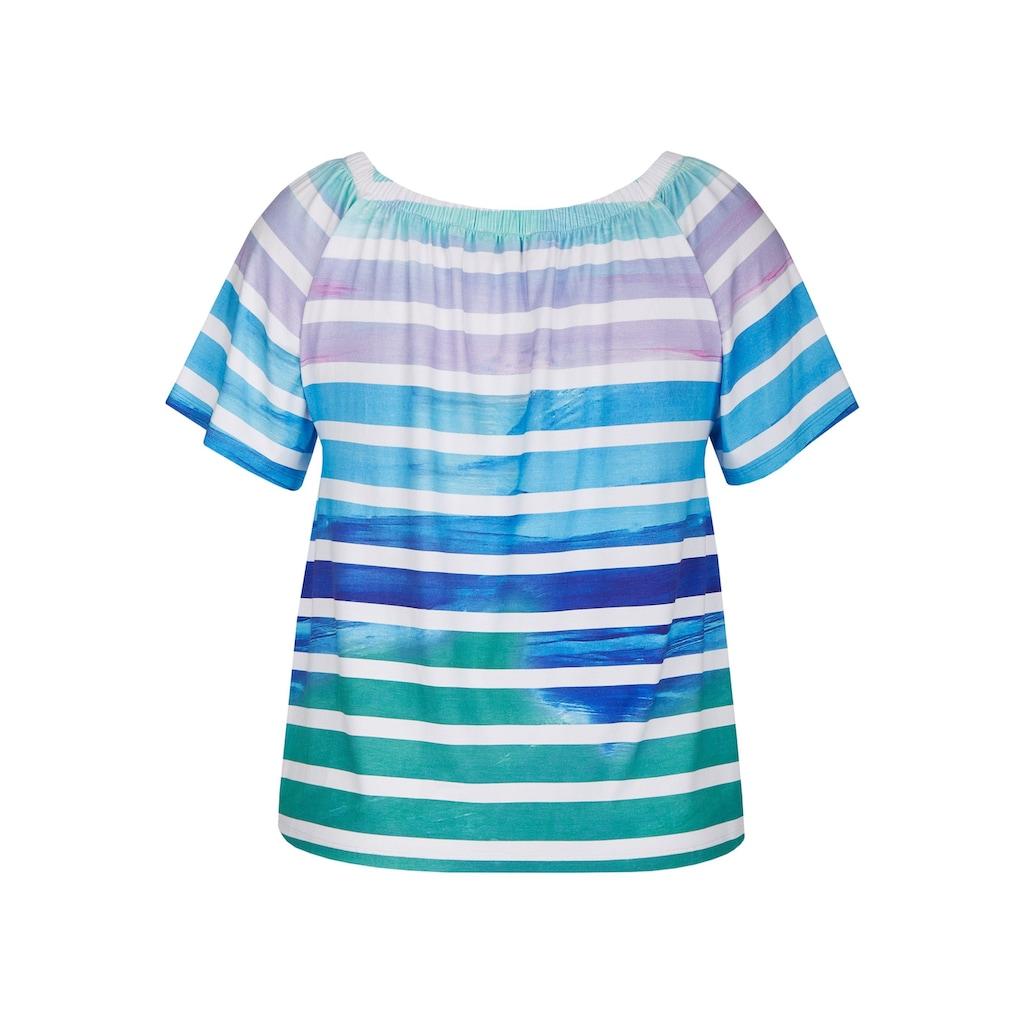 VIA APPIA Süßes Shirt mit Farbverlauf