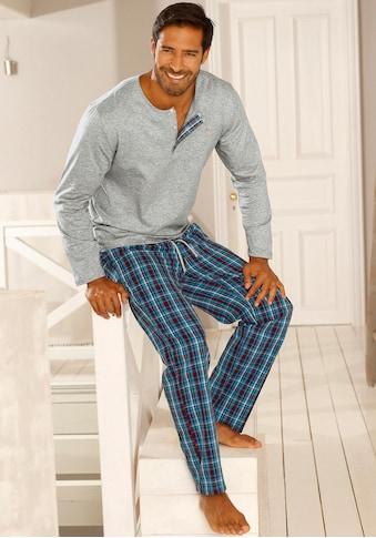 s.Oliver Bodywear Pyjama, in langer Form kaufen