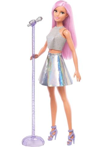 Barbie Anziehpuppe »Sängerin Puppe, pinke Haare« kaufen