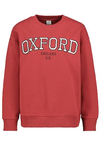 SUBLEVEL Sweatshirt, mit College Print kaufen