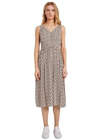 TOM TAILOR Jerseykleid, mit geraffter, elastischer Taille kaufen