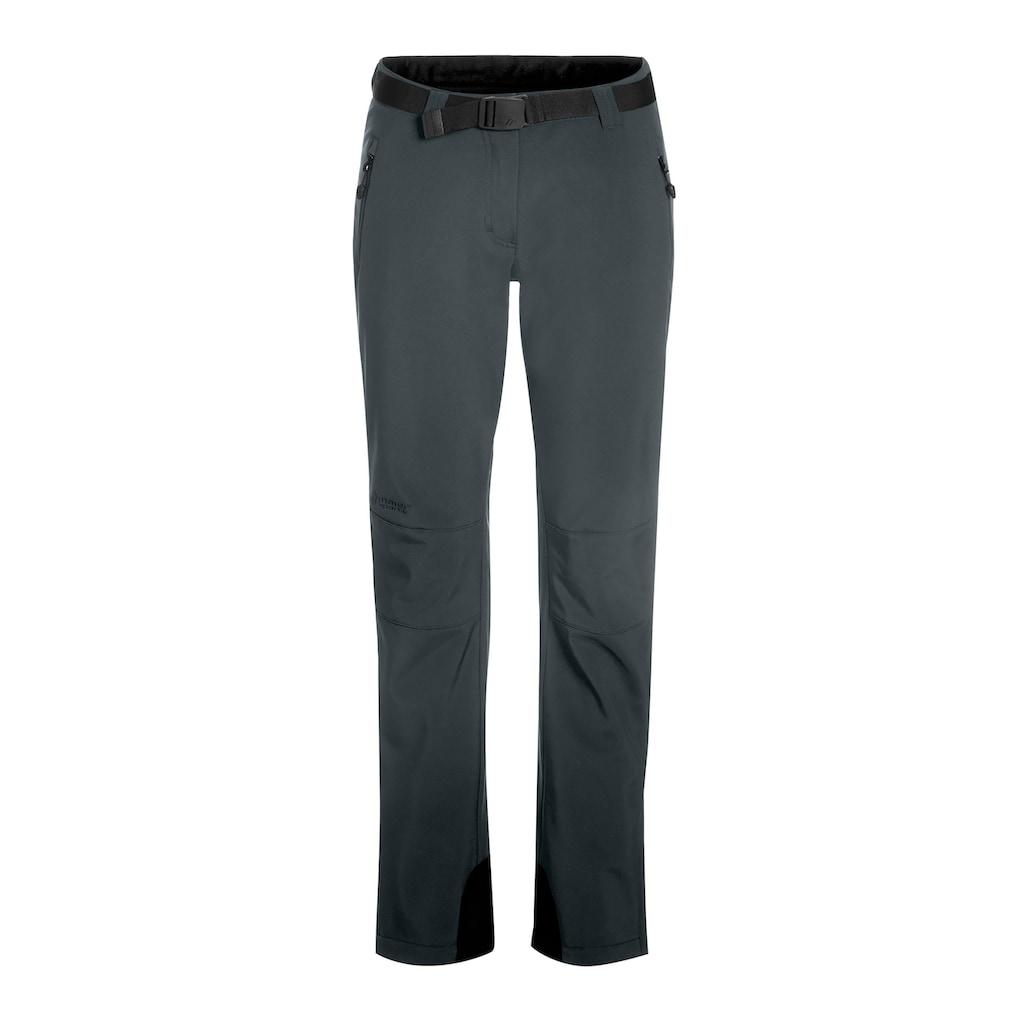 Maier Sports Funktionshose »Tech Pants W«, Warme Softshellhose, elastisch und winddicht