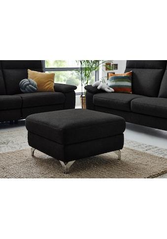 """DELAVITA Polsterhocker »Florus«, passend zum Sofa """"Florus"""", in 2 Bezugsqualitäten kaufen"""