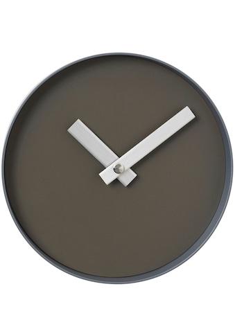 BLOMUS Wanduhr »Wanduhr -RIM- Tarmac/Steel Gray« kaufen