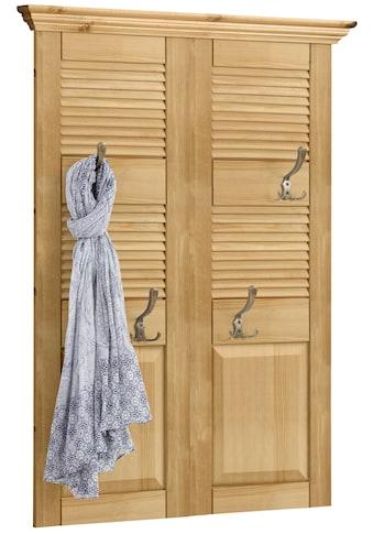 Home affaire Garderobenpaneel »Ayanna«, Aus Massivholz kaufen