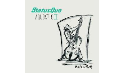 Vinyl »Aquostic II-That's A Fact! / Status Quo« kaufen