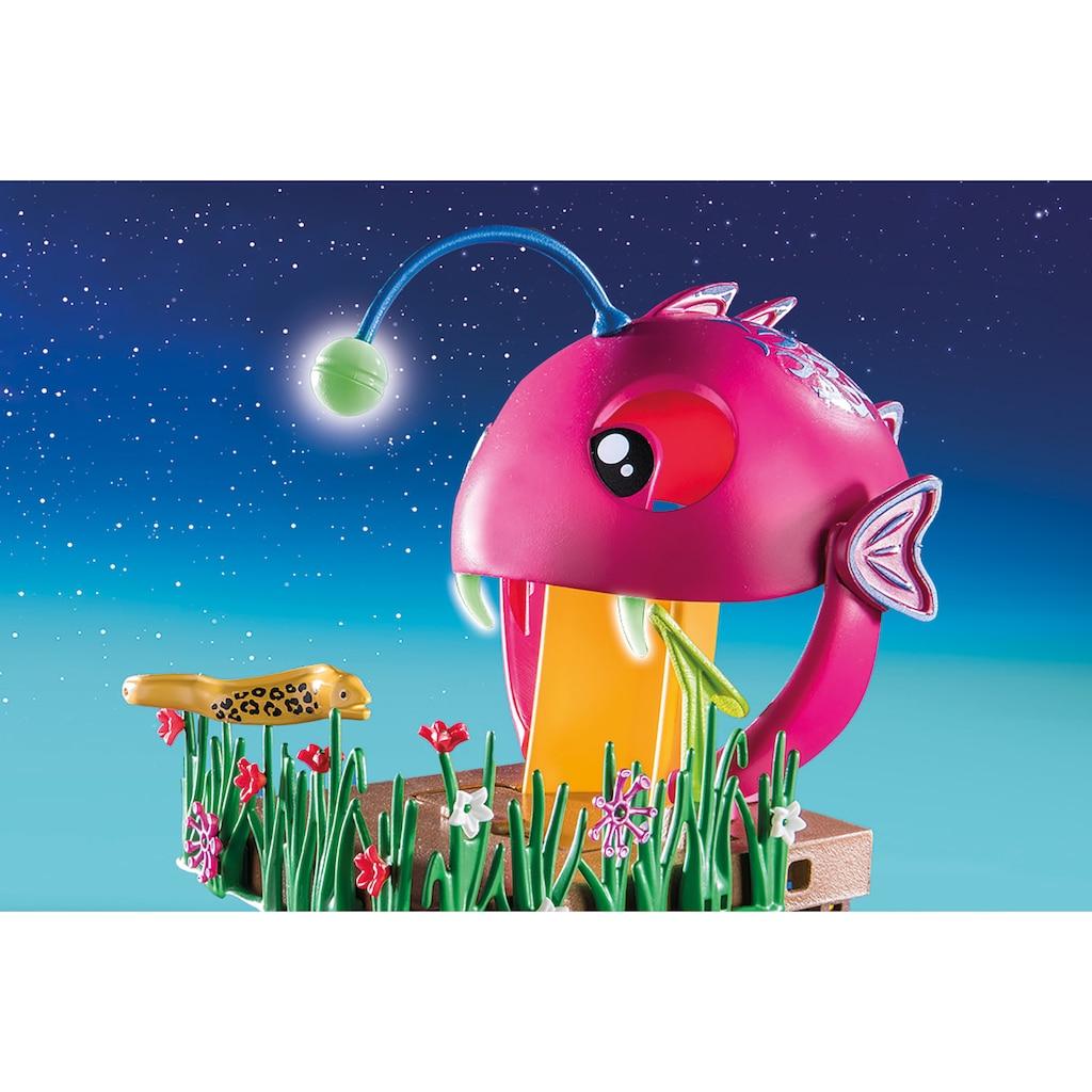 Playmobil® Konstruktions-Spielset »Aqua Park mit Rutschen (70609), Family Fun«, (132 St.), Made in Germanymit funktionsfähiger Free-Fall-Rutsche