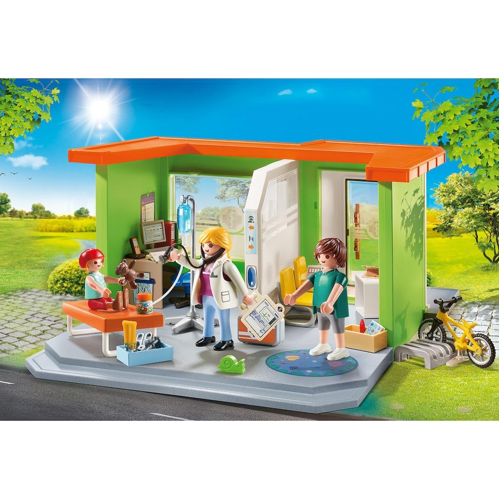 Playmobil® Konstruktions-Spielset »Meine Kinderarztpraxis (70541), City Life«, (68 St.)