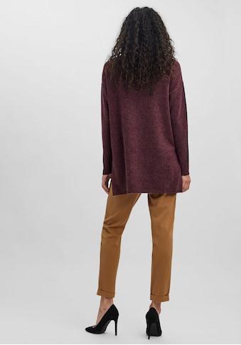 Vero Moda Longpullover »VMBRILLIANT LS O-NECK LONG BLOUSE« kaufen