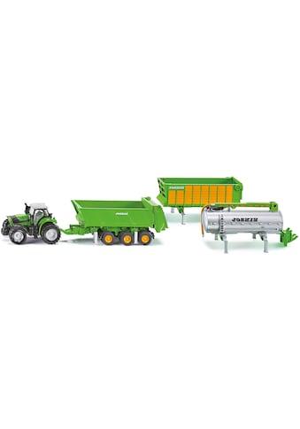 Siku Spielzeug-Traktor »SIKU Farmer, Deutz-Fahr Agrotron X720«, mit Joskin Anhängerset kaufen