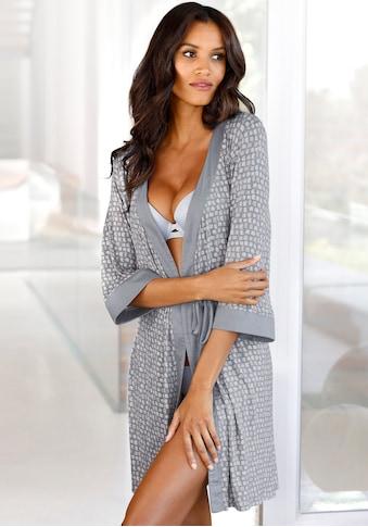 LASCANA Kimono, mit Allover-Muster kaufen
