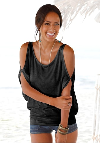 LASCANA Strandshirt, mit Schulterschlitzen kaufen