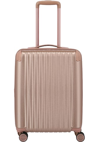 TITAN® Hartschalen-Trolley »BARBARA & TITAN®, Barbara Glint 55 cm, Rose Metallic«, 4... kaufen