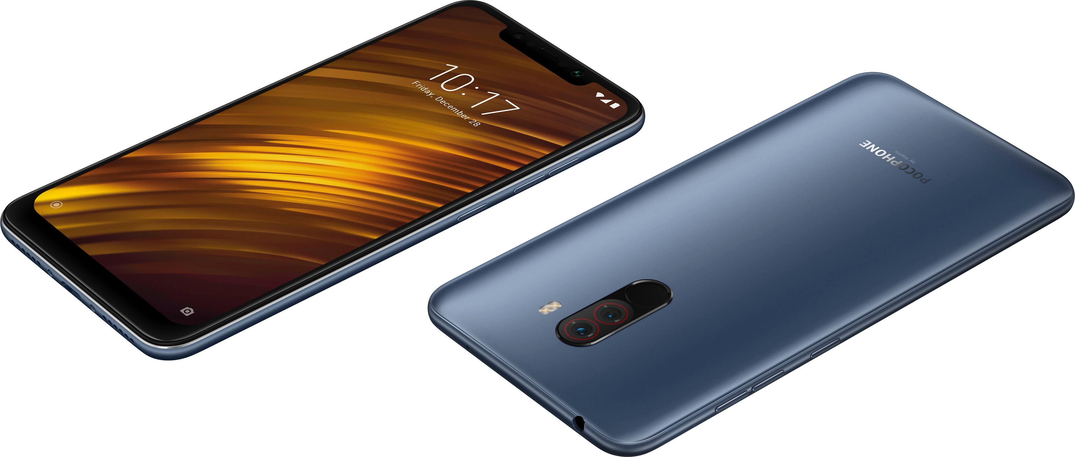 Pocophone F1 Smartphone (15,7 cm / 6,2 Zoll, 128 GB, 12 MP Kamera)