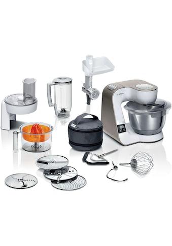 BOSCH Küchenmaschine »MUM5XW40 MUM5«, 1000 W, 3,9 l Schüssel, integrierte Waage,... kaufen